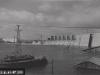 Ansicht der Sperre von Oberwasser. Hochwasser August 1941