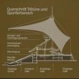 Querschnitt Tribüne und Sportlerbereich