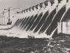 3000 m³/sek Wasser fließen über den Überlauf