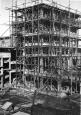 Bau der Trümmerverwertungsanlage