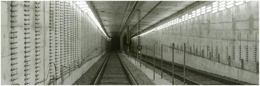 Holzmann U-Bahn-Bau in-Frankfurrt MainM